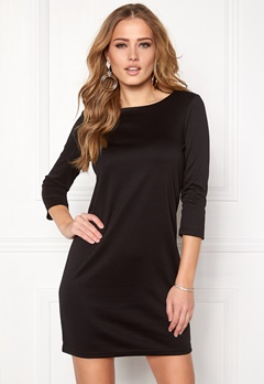 VILA Tinny New Dress Black Bubbleroom.dk