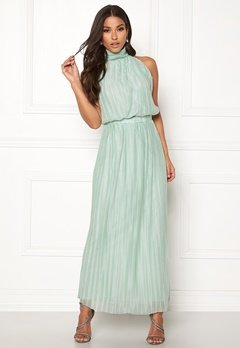 VILA Tippy S/L Maxi Dress Blue Haze Bubbleroom.dk
