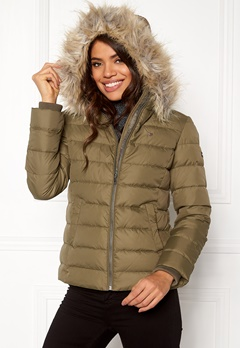 TOMMY JEANS Basic Down Jacket Crocodile Bubbleroom.dk