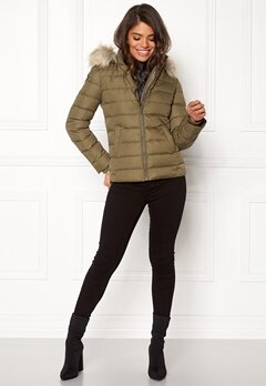 TOMMY HILFIGER DENIM Basic Down Jacket Crocodile Bubbleroom.dk