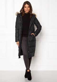 TOMMY JEANS Down Coat Black beauty Bubbleroom.dk