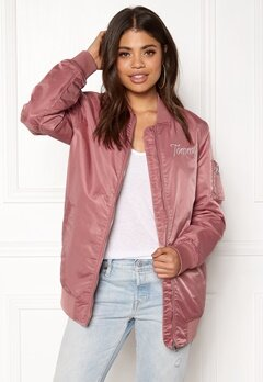 TOMMY JEANS THDW Nylon Bomber Withered Rose Bubbleroom.dk