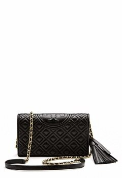 TORY BURCH Fleming Wallet Cross-Body Black Bubbleroom.dk