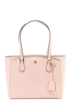 TORY BURCH Robinson Small Tote Shell pink Bubbleroom.dk