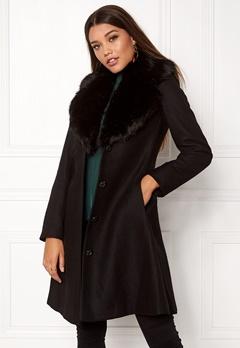 Ida Sjöstedt Tracey Coat Black/Black Bubbleroom.dk