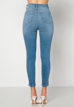 Trendyol High Waist Jeans Blue bubbleroom.dk