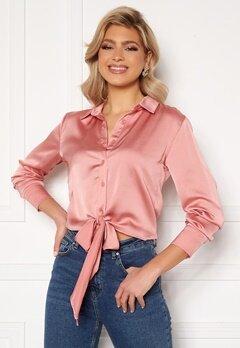 Trendyol Rose Tie Shirt Gul Kurusu/Rose Bubbleroom.dk