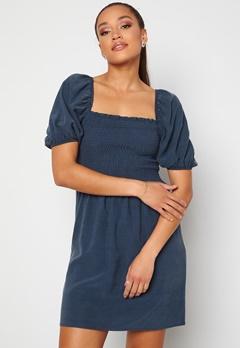 Trendyol Smock S/S Dress Lacivert/Navy Bubbleroom.dk
