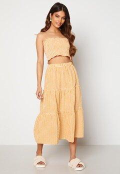 Trendyol Smock Top Skirt Set Sari/Yellow Bubbleroom.dk
