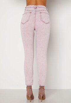Trendyol Tova HW Jeans Pink Bubbleroom.dk