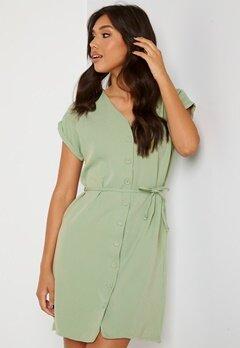 Trendyol V-Neck Button Dress Mint Bubbleroom.dk