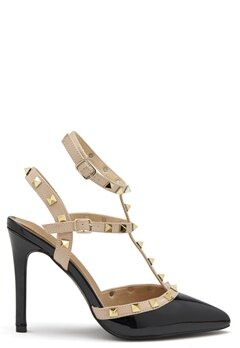 Truffle Liw High Heel Sandals Blk Bubbleroom.dk