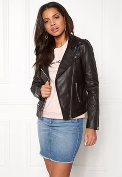 Twist & Tango Amanda Leather Jacket Black Bubbleroom.dk