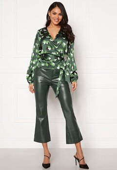 Twist & Tango Cornelia Trousers Blackish Green Bubbleroom.dk