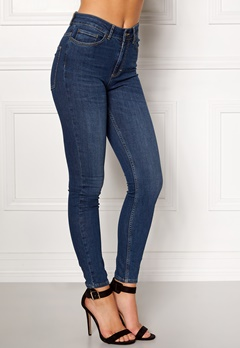 Twist & Tango Julie High Waist Jeans Dark Blue Bubbleroom.dk