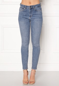 Twist & Tango Julie High Waist Jeans Mid Blue Bubbleroom.dk