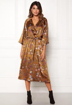 Twist & Tango Maxine Dress Rust Flower Bubbleroom.dk