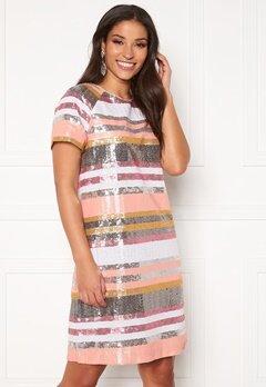 Twist & Tango Pernilla Sequin Dress Sequin Stripe Bubbleroom.dk