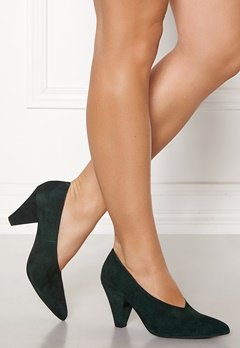 Twist & Tango Rio Leather Heels Blackish Green Bubbleroom.dk