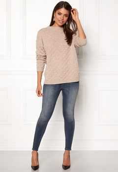 Twist & Tango Thea Sweater Beige Melange Bubbleroom.dk