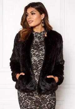 Twist & Tango Viola Faux Fur Jacket Black Bubbleroom.dk