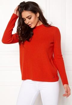 Twist & Tango Yvette Sweater Tomato Bubbleroom.dk