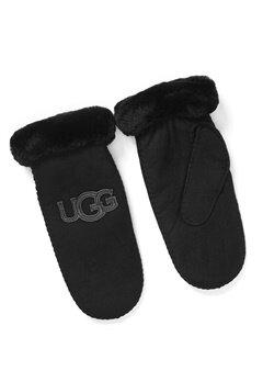 UGG Australia Logo Mitten Black Bubbleroom.dk