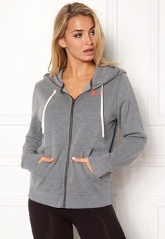 Under Armour Favorite Fleece Top Carbon Heather Bubbleroom.dk