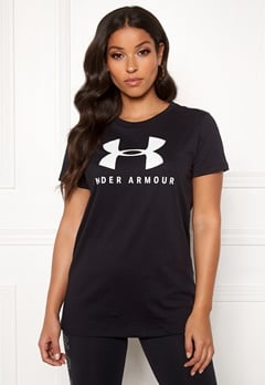 Under Armour Graphic Sportstyle Classic Crew 002 Black Bubbleroom.dk