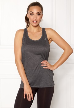 Under Armour Tech Tank Carbon Heather Bubbleroom.dk
