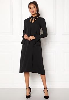 DAGMAR Valencia Dress Black Bubbleroom.dk