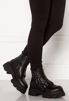 VAMSKO Frida Leather Boots Black Bubbleroom.dk