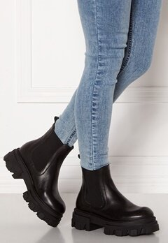 VAMSKO Molly Leather Boots Black Bubbleroom.dk