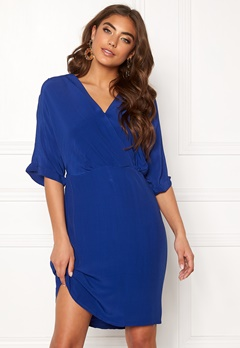 VERO MODA Allison 2/4 Short Dress Sodalite Blue Bubbleroom.dk
