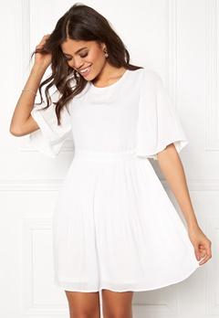 VERO MODA Amanda 2/4 Short Dress Snow White Bubbleroom.dk