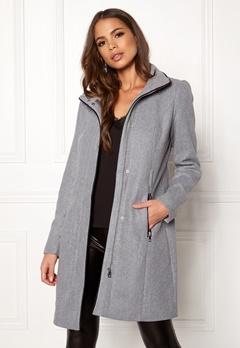 VERO MODA Bessy Class Wool Jacket Light Grey Melange Bubbleroom.dk