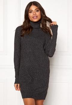 VERO MODA Brilliant LS Rollneck Dress Black Bubbleroom.dk