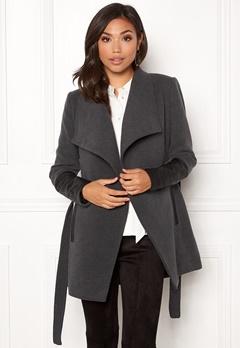 VERO MODA Cala 3/4 Jacket Dark Grey Melange Bubbleroom.dk