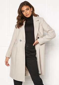 VERO MODA Calarambla 3/4 Jacket Dark Grey Melange Bubbleroom.dk