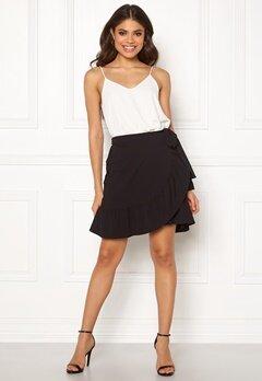 VERO MODA Cita Bobble Wrap Skirt Black Bubbleroom.dk