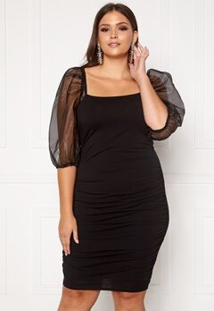 Vero Moda Curve Celly Dress Black Bubbleroom.dk
