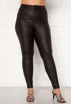 Vero Moda Curve Lora HW Coat Pants Black Bubbleroom.dk