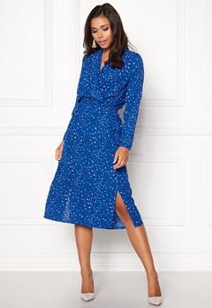 VERO MODA Dee Calf Dress Strong Blue Bubbleroom.dk