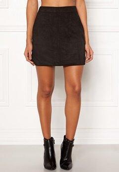 VERO MODA Donna Dina Short Skirt Black Bubbleroom.dk