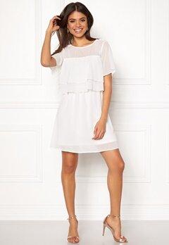 VERO MODA Dora SS Short Dress Snow White Bubbleroom.dk