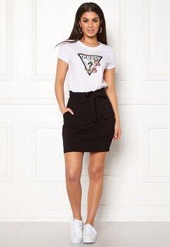 VERO MODA Eva Paperbag Short Skirt Black Bubbleroom.dk