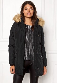 VERO MODA Excursion Parka Black Beauty Bubbleroom.dk