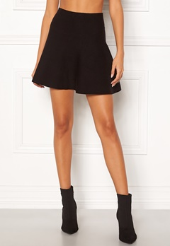 VERO MODA Fresno Short Knit Skirt Black Bubbleroom.dk