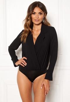 VERO MODA Freya L/S Shirt Body Black Bubbleroom.dk