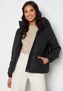 VERO MODA Greta Short Coated Jacket Black bubbleroom.dk